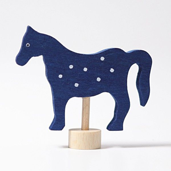 Steker Paard Gevlekt Paarden Grimm Verjaardag