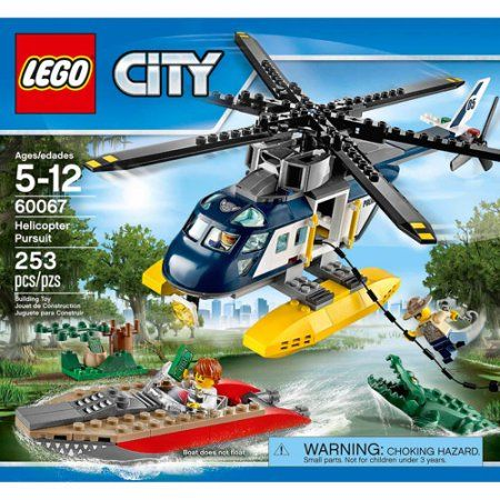 Lego City Police Helicopter Pursuit, Multicolor