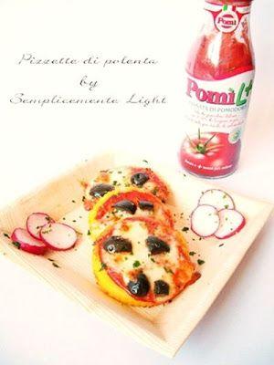 Pizzette di polenta per celiaci e non solo