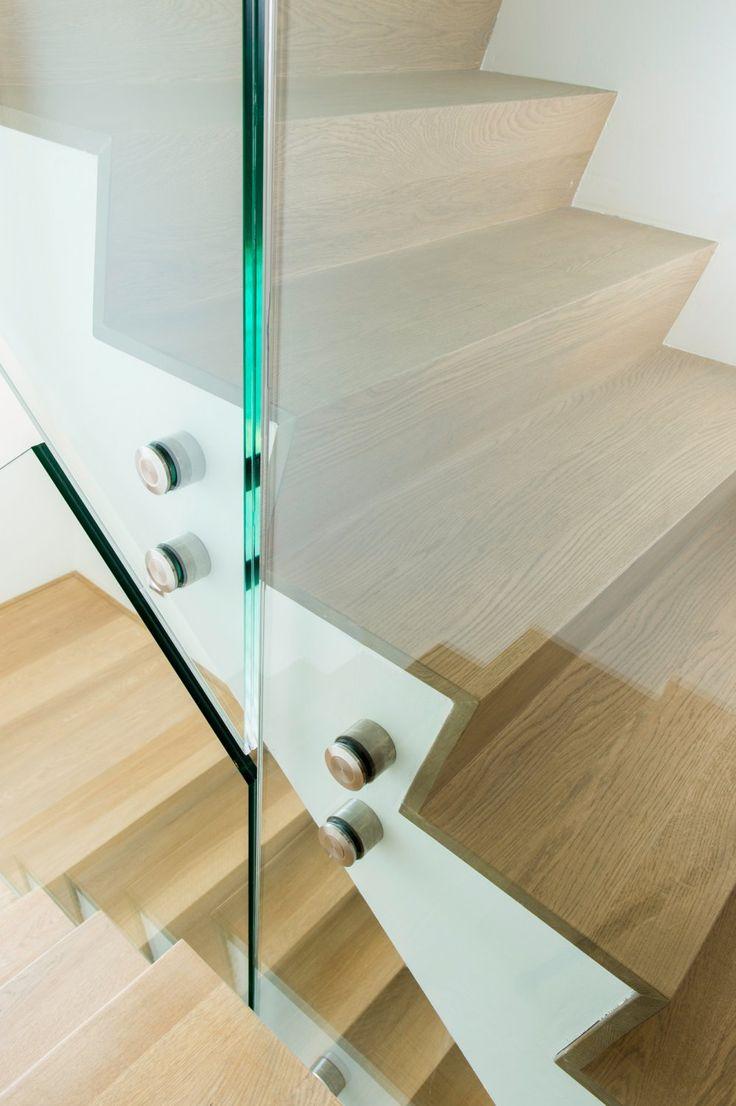 25 beste idee n over trapleuningen op pinterest - Glazen salontafel en smeedijzer ...
