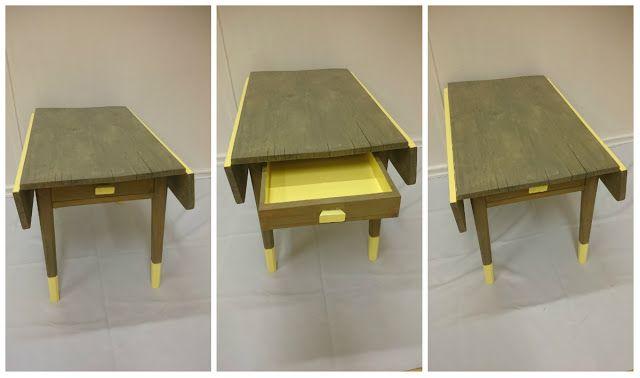 HJERTEHJORT: Et gammelt bord, helt fra oldemor sin tid!