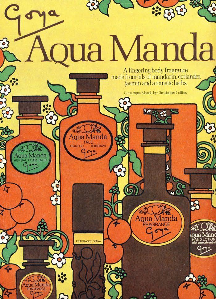 Vintage Advert for Aqua Manda perfume & toiletries - Vogue June 1971 | by CharmaineZoe's Marvelous Melange