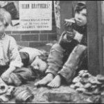 Street children in Victorian times were found in abundance living in alleys or side streets. Many were orphans but a large part of the street children were from neglectful, alcoholic families where abuse was the norm. Faced with the choice of living in these conditions or living on the street some children chose the street. Many of these children fell prey to prostitution and thieving to support themselves. Others became street sellers or actually worked public jobs like other children.