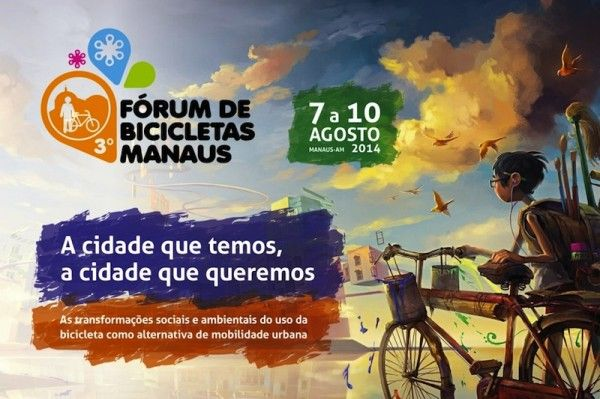 Manaus organiza seu III Fórum de Bicicletas