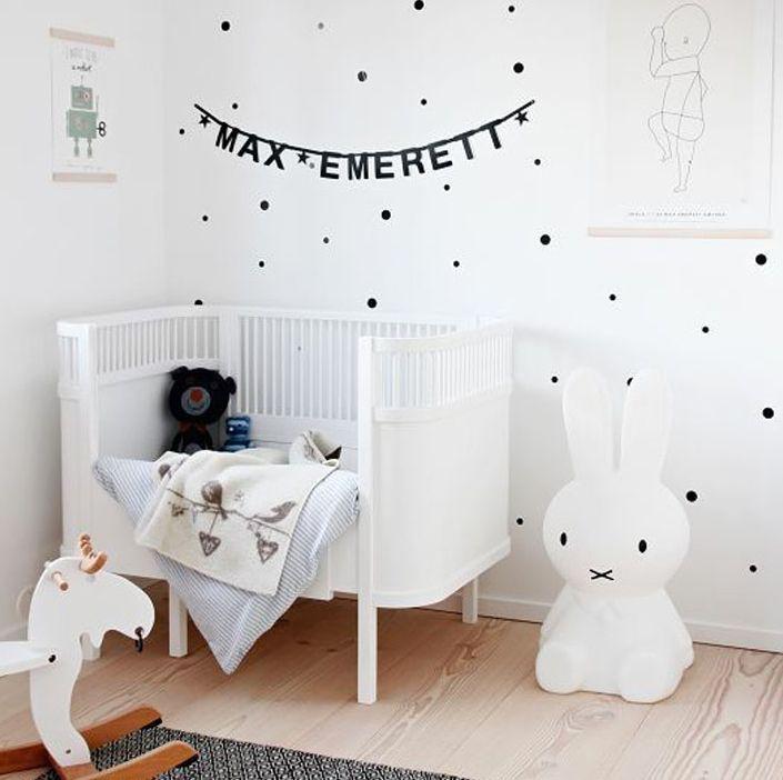 Super #trendy #lampen voor de #babykamer Natuurlijk is een #trendy #babykamer ook niet compleet zonder leuke #lampen! Je komt er niet onderuit om ze op te hangen of neer te zetten, maar oh, wat zijn er leuke #lampen te koop. Bekijk hier drie toppers van lampen voor je #babykamer in de vorm van een #vloerlamp, #wandlamp en #hanglamp.