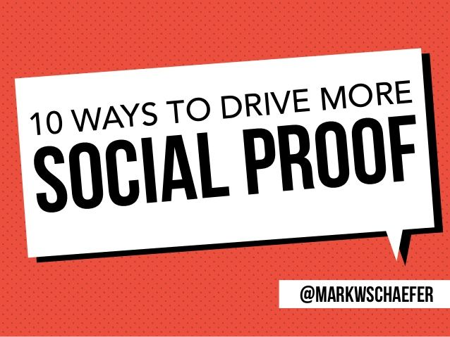 In an information dense world, customers are starved for clues on what to do, who to believe and what to read. The difference between being ignored and being a success might very well depend on the subtle idea of social proof! Find out why social proof is important and how it can work for you.
