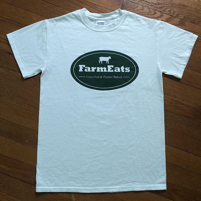 Check out our new FarmEats tees! Order online at FarmEats.com #farmeats #website #youth #unique #unisex #whitetshirt #tshirt #tshirts #tees #summer #small #beef #buy #cow #cotton #clothing #checkout #cool #print #grassfed #gildan #large #logo #medium #meat #order #online #preshrunk #pastureraised #swag