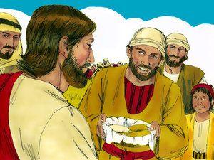 Kaksi kalaa ja viisi leipää Jeesuksen elämä ja ihmetyöt https://fi.pinterest.com/pmvanginkel/bijbel-het-leven-van-jezus-kleuters-bible-jesus-an/