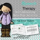 Self-Advocacy Role Play Activity for High School Students!