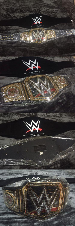 Wrestling 2902: Wwe World Heavyweight Championship Wrestling Belt Wwf Title Big Logo 2014 New -> BUY IT NOW ONLY: $199.99 on eBay!
