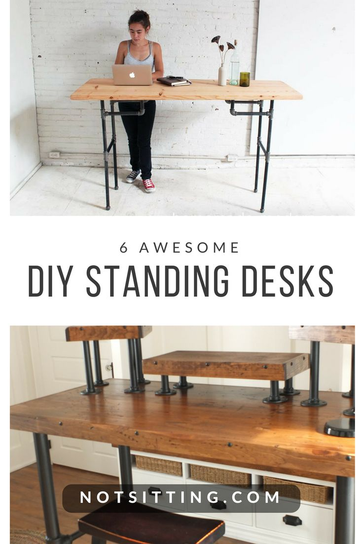 The 25+ best Diy standing desk ideas on Pinterest | Standing desks ...