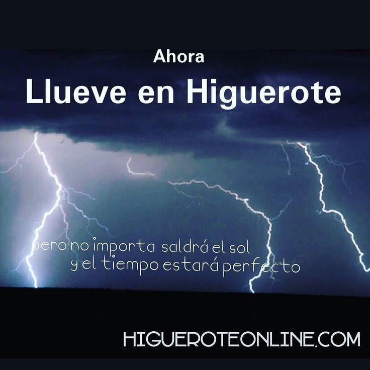 Llueve en  mi Higuerote querido con gran fuerza desde hace varias horas #clima #pronostico #tiempo #lluvia