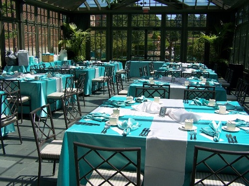 The Bridal Shower: 'brunch at Tiffany's' theme