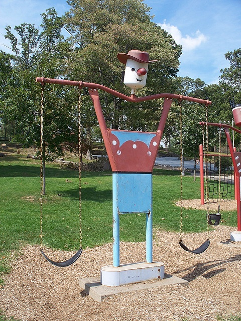 Swinging Playground Equipment : Best images about old school playground equipment on