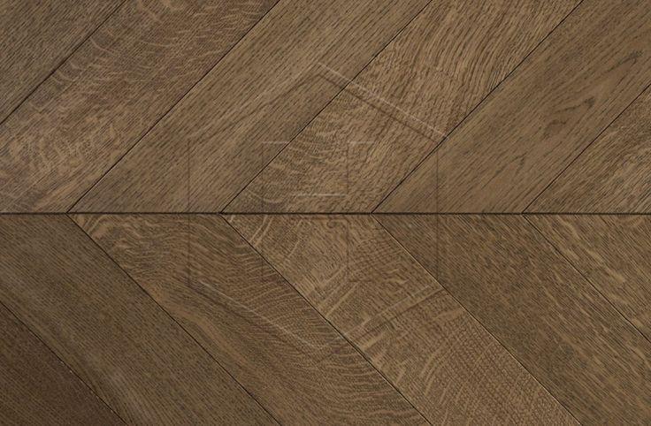 HW3156 Nile Prime 120mm Engineered 45° Chevron Oak Wood Flooring