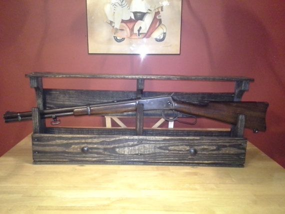 30 30 Winchester Gun Rack Display Shelf Pallet Ideas From Etsy