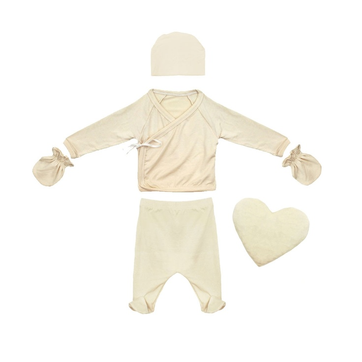 Bamboo Baby Layette Set with Kimono Top