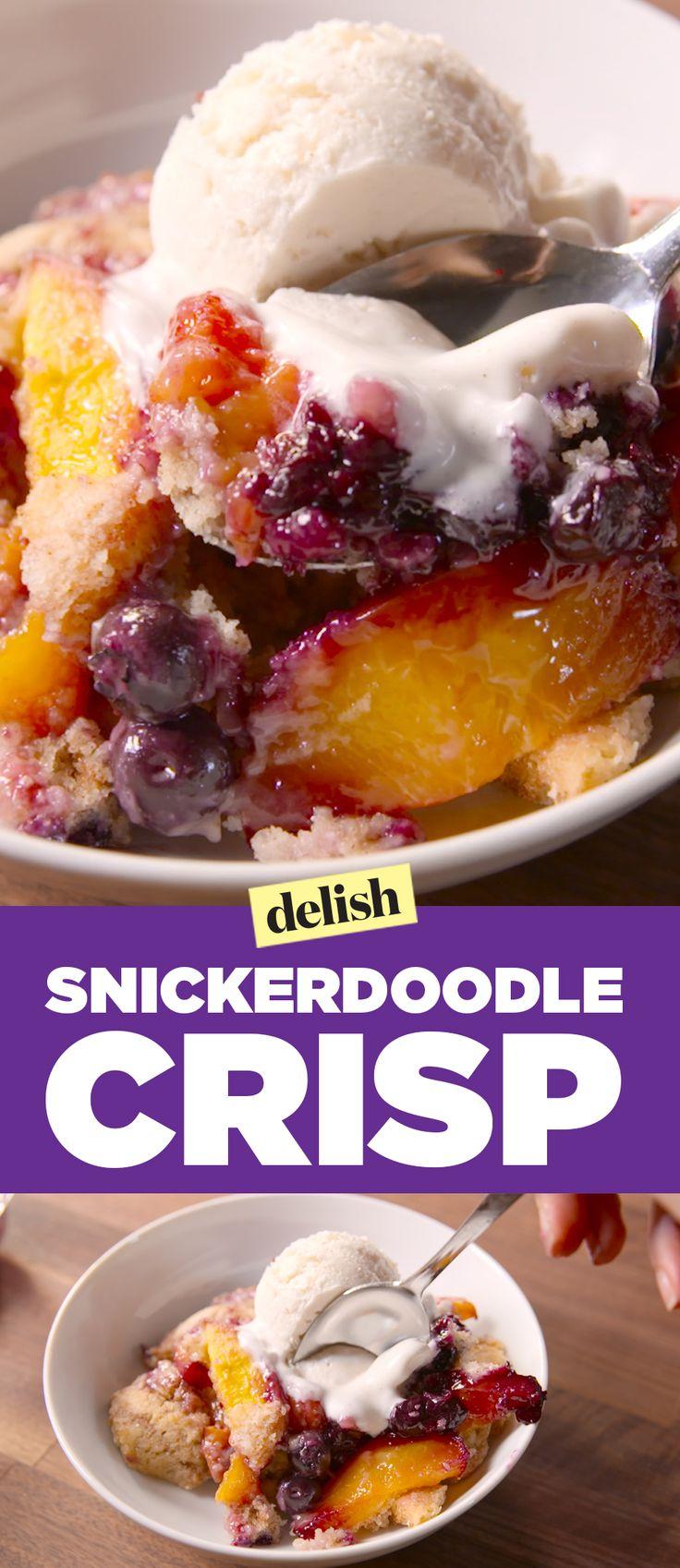 Snickerdoodle Crisp