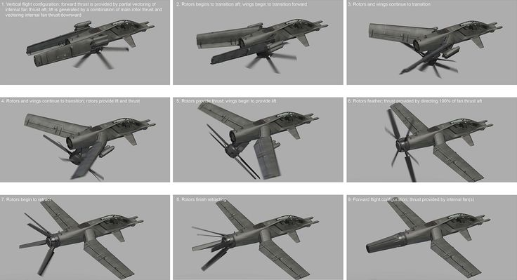 concept ships: CAS-1 Dual Configuration Close Air Support Platform by Tom Alfaro