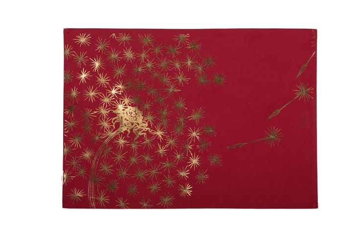 Red Dandelion Placemat