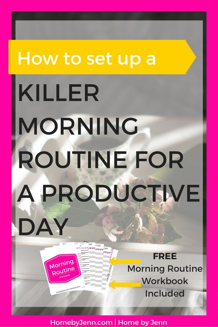 Today let's talk about setting up a killer morning routine. This killer morning routine is going to set you up for a wildly productive day.…