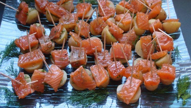 Bouchées au saumon   Mariatotal