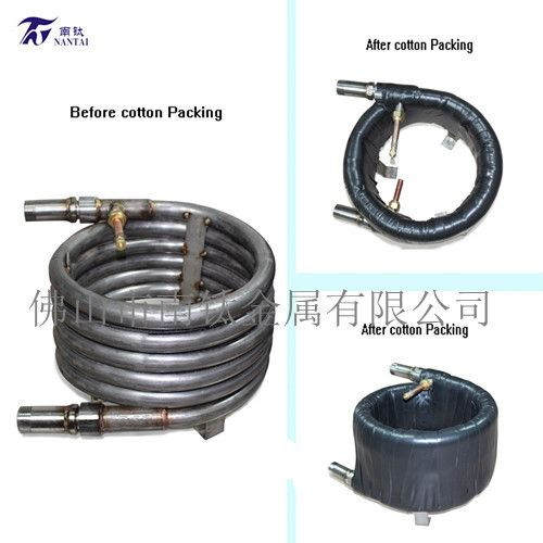 Product nametitanium coaxial tube heat exchanger /tube in
