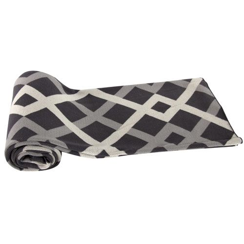 Gray Cotton Cashmere Throw