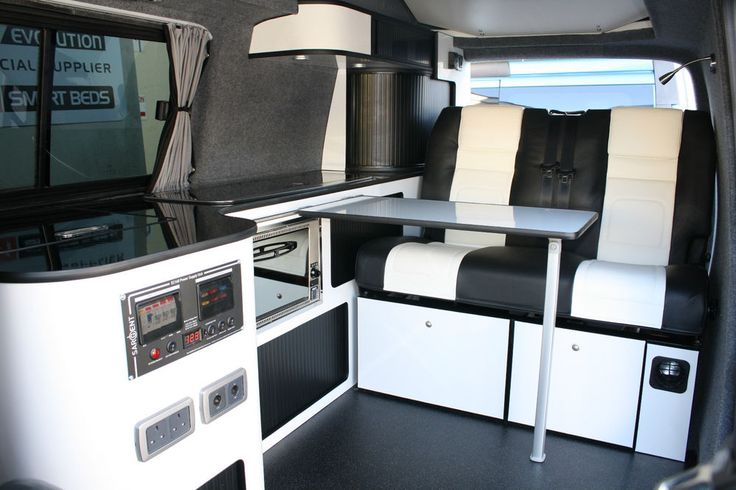 Vw T5 Camper Campervan Conversion Gloss White Renault