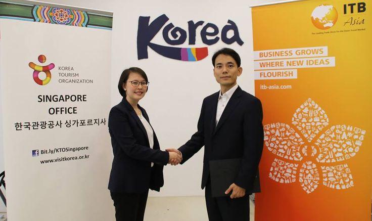ITB Asia 2017 Partners with Korea Tourism Organization.