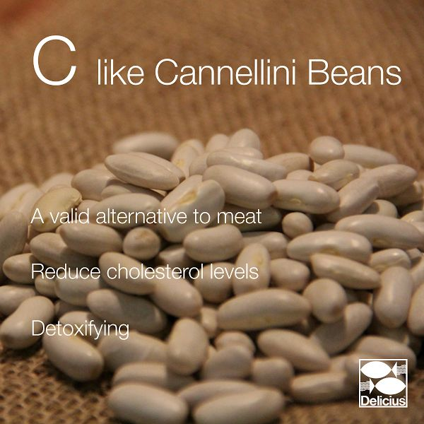 The Delicius Alphabet | C like Cannellini Beans - we love to use them in our tasty summer recipes, along with our mackerel fillets!