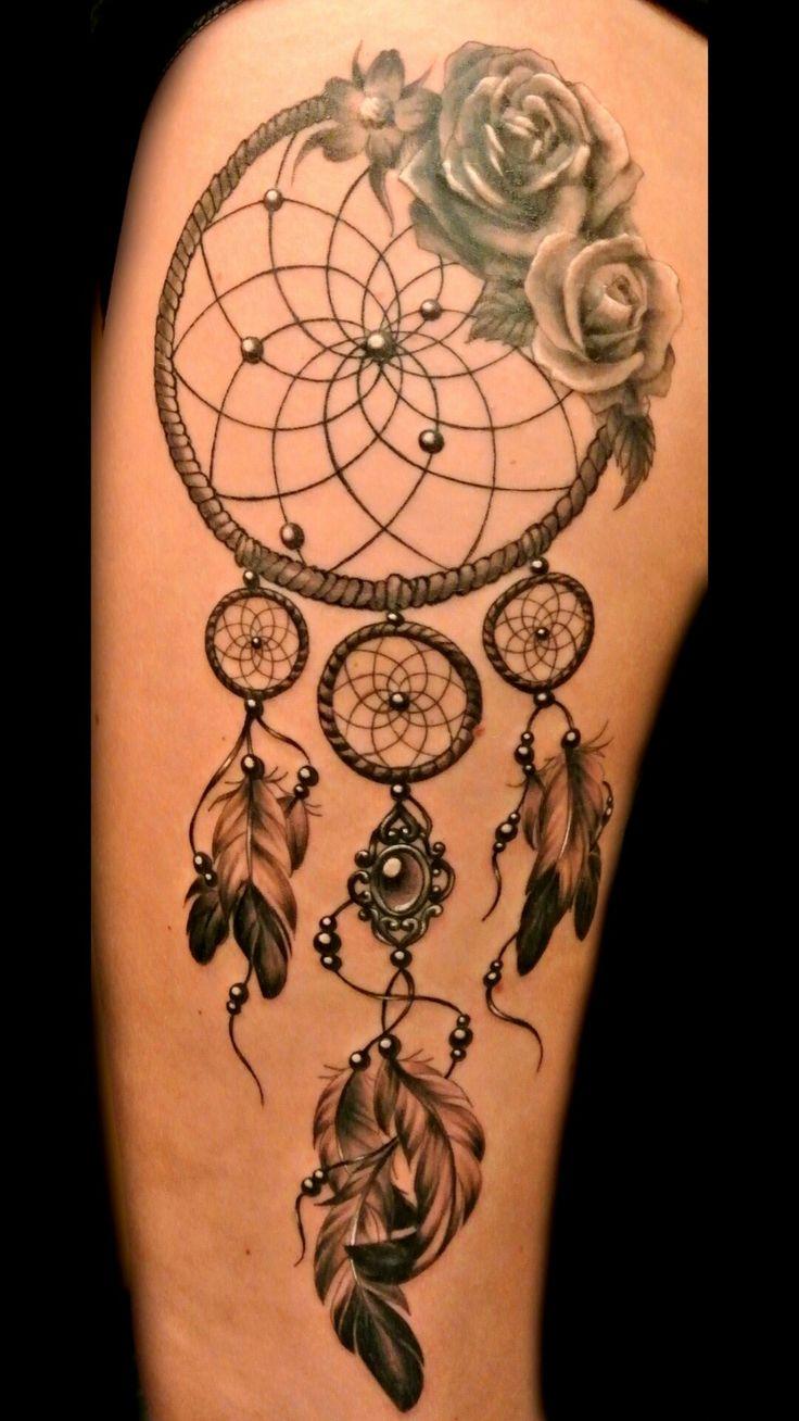 27 best leg tattoos girl dream catchers images on pinterest