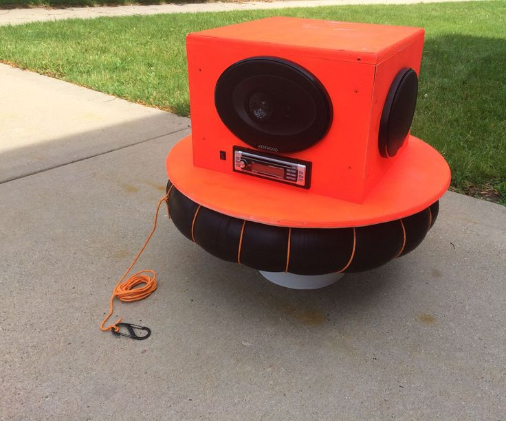 A few years back a friend wanted me to build a floating stereo for his yearly lazy river trip. We didn't have the funds at the time but since I opened up a stereo installation shop I've gotten access to tons of cheap and second hand parts. This year I got invited to go on a lazy river down the Wisconsin river so I knew it was the right time to build a prototype.The ice chest/cooler boom box has been done 1000 times so I knew I had to think of something different, and I didn't want to…