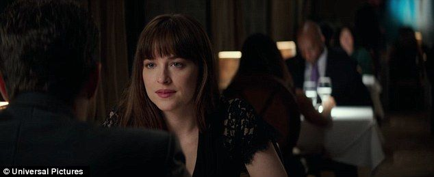Sexy scene:A new clip from Fifty Shades Darker shows an extended date night for the characters of Anastasia Steele and Christian Grey, published on Saturday by the official YouTube account for the film