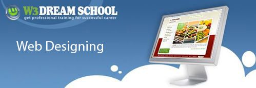 Get creative web designing training from professional web designer at W3 Dream School.