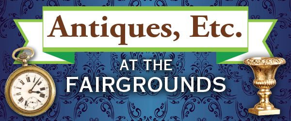 Don't miss the Antiques, Etc. show at the Alameda County Fairgrounds in Pleasanton on Sundays this summer on July 16, August 20 and September 17, 2017.