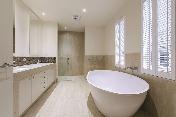 Here's a modern bathroom we built for a client! Simple yet beautiful!  More for samples of our work, visit our portfolio: http://bit.ly/1VK9haE