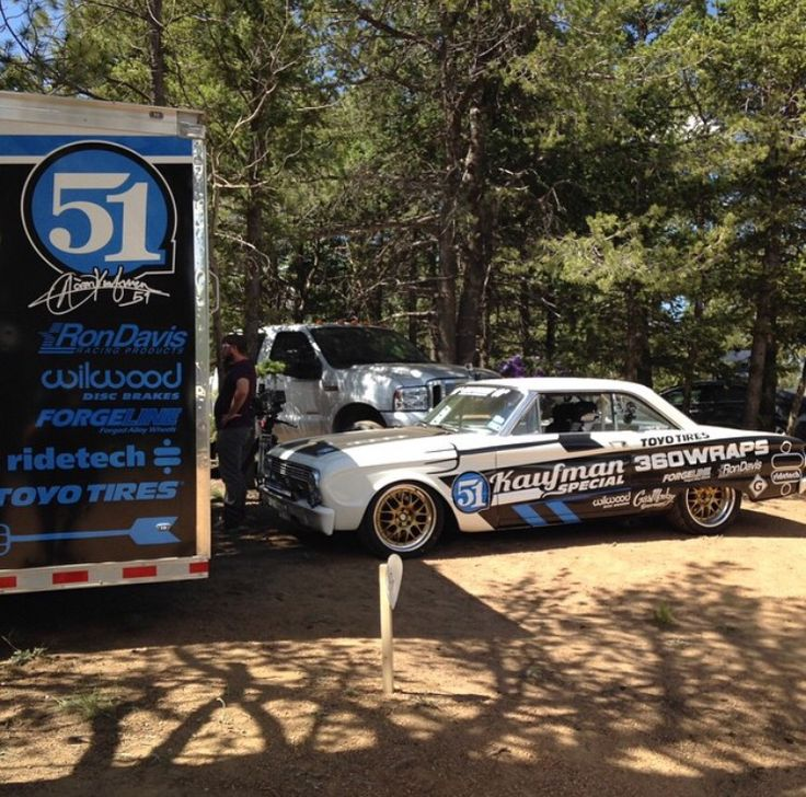 aaron kaufman 39 s badass ford falcon pikes peak gas monkey pinterest. Black Bedroom Furniture Sets. Home Design Ideas