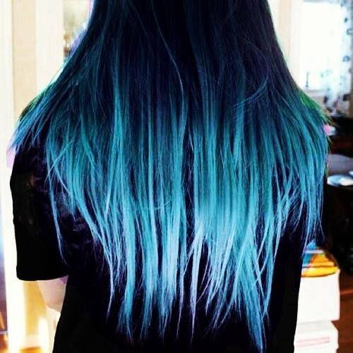 best 25 blue dip dye ideas on pinterest blue dip dye