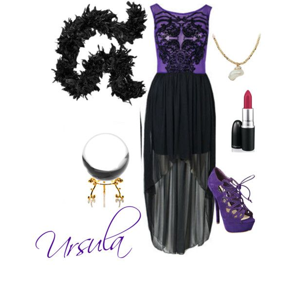 45 best villains fashion images on pinterest disney villains disney villains diy halloween costume guide ursula look solutioingenieria Image collections