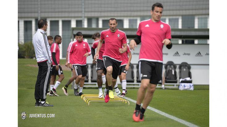 L'allenamento del 21 aprile - Juventus.com