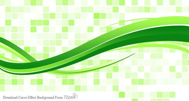 wavy green background vector - photo #43
