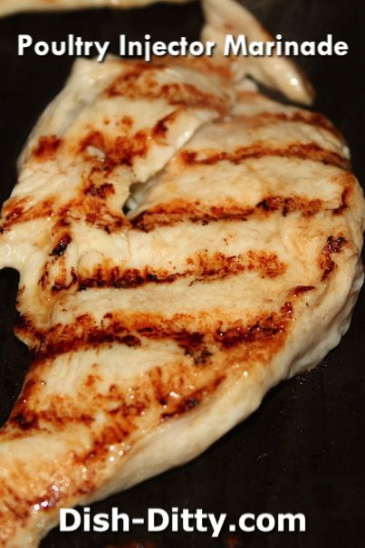 Poultry Injector Marinade Recipe - http://www.dish-ditty.com/recipe/poultry-injector-marinade-recipe/