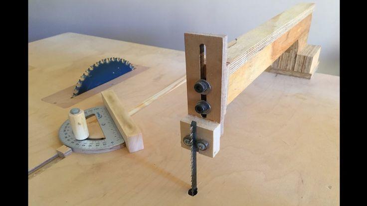 4 in 1 Workshop Accessories (blade guide, miter gauge, crosscut sled) - ...