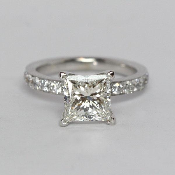 Princess Cut Diamond Ring By Oliver Smith Jeweler