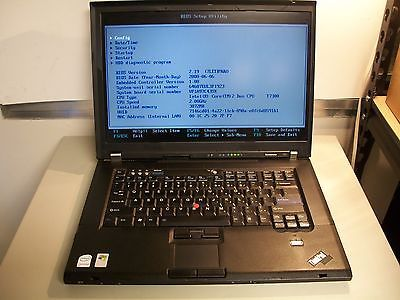 Lenovo T61 Intel Core 2 Duo 2.0GHz 3GB NO HDD DVD-RW