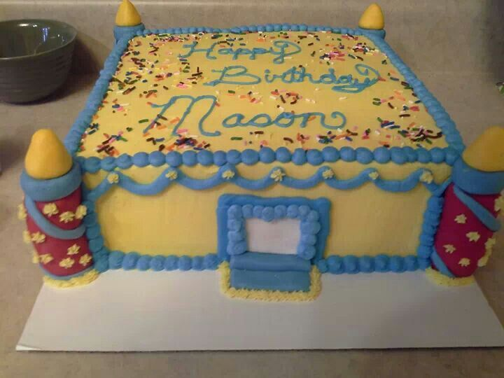 8 Best Charley Bday Images On Pinterest Bounce House Birthday