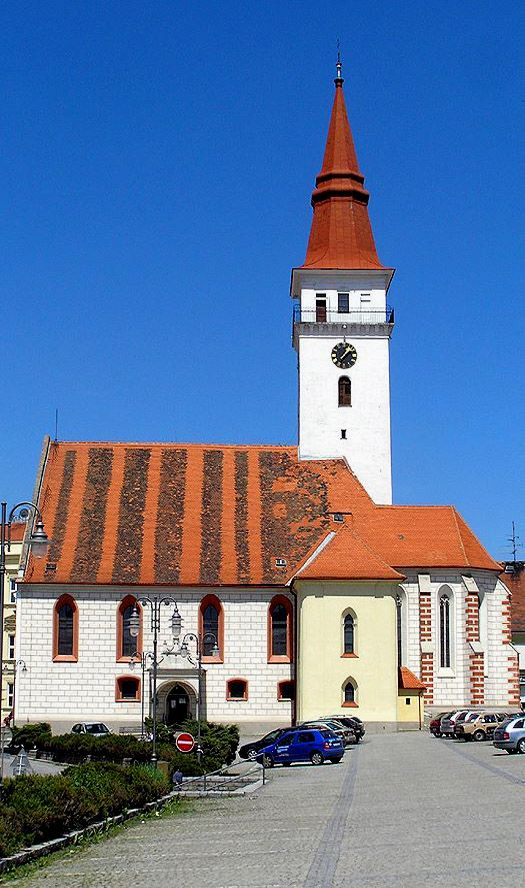St.Stanislav church in Jemnice (South Moravia), Czechia