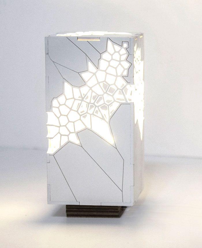Voronoi and Delaunay Table Light by Mariam Ayvazyan - InteriorZine