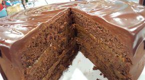 Torta de chocolate, mayonesa y dulce de leche!! - Cocineros Argentinos
